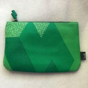 Ipsy Makeup Bag - Green Tetris